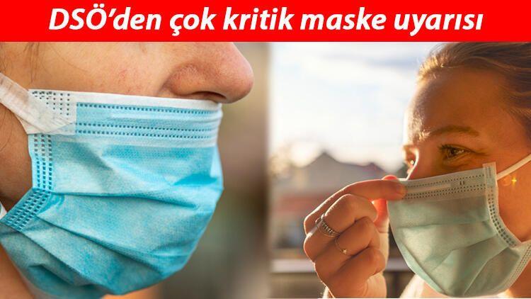 DSÖ'den çok kritik maske uyarısı... Bu hatayı sakın yapmayın! - Sayfa 1
