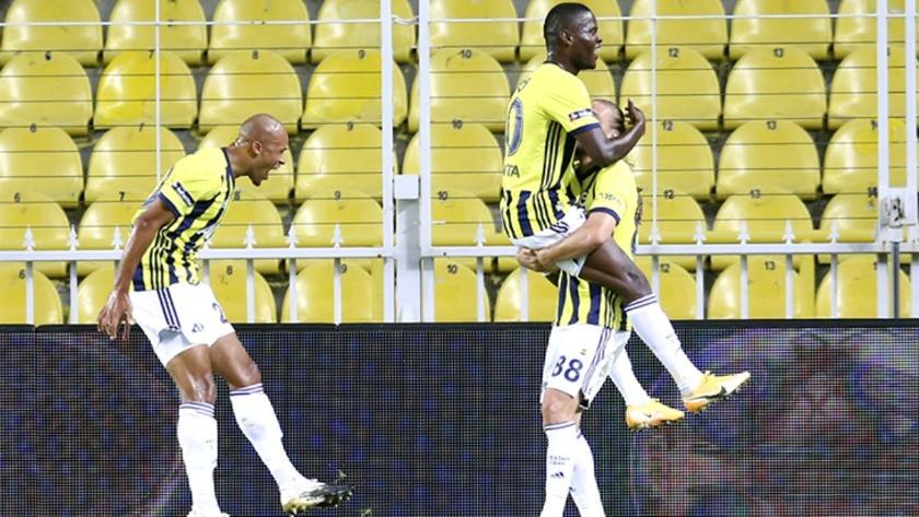 Fenerbahçe'nin yeni transferi Samatta ilk golünü attı