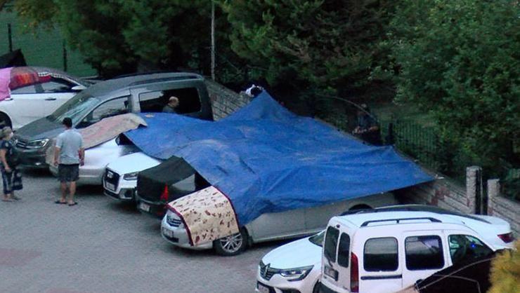 İstanbul'da araç sahipleri böyle önlem aldı - Sayfa 1