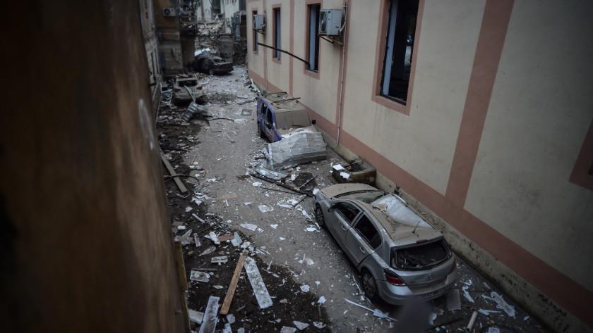 Ermenistan'ın Azerbaycan'a saldırı anı kamerada - İZLE