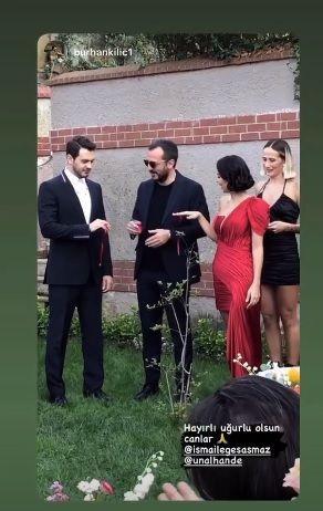 İsmail Ege Şaşmaz ve Hande Ünal çifti nişanlandı! - Sayfa 4