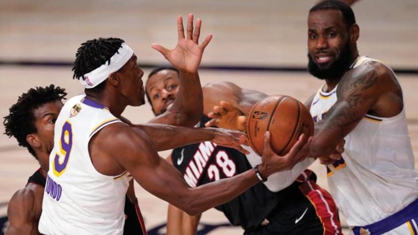 NBA'de Los Angeles Lakers şampiyon oldu