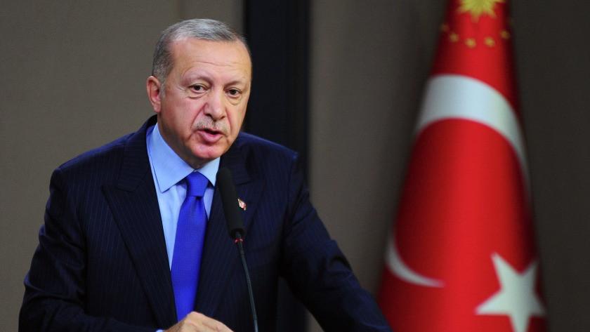 Cumhurbaşkanı Erdoğan'dan 'ışıklar yanıyor' açıklaması