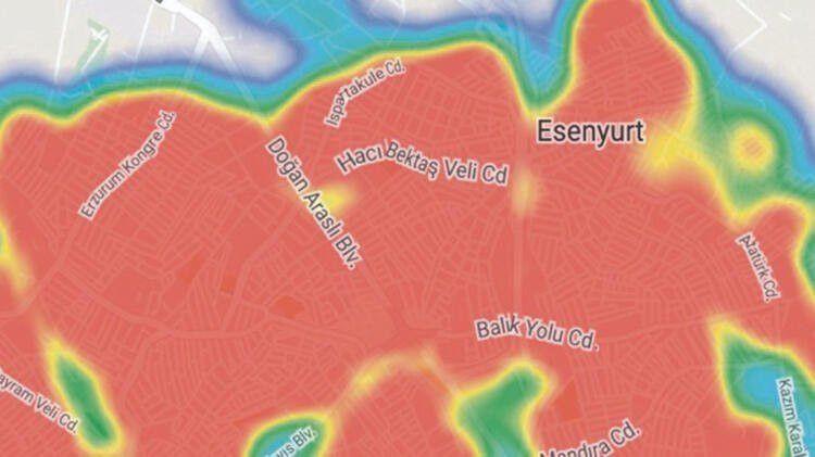 İşte İstanbul'un koronavirüs konusunda en riskli ilçeleri (HARİTALI) - Sayfa 2
