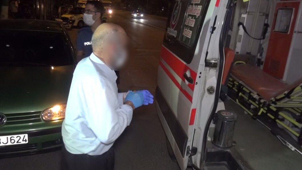 Hastaneden kaçan korona hastası 80'lik dede minibüste yakalandı - Sayfa 1