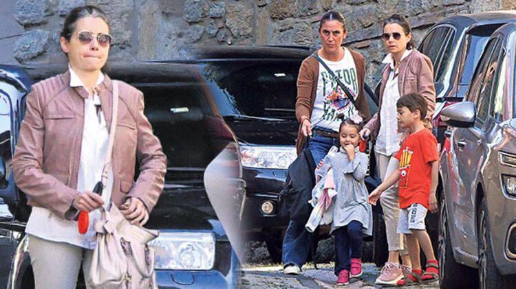 Eşinin ölümü ile yıkılan Özgü Namal çocuklarıyla ilk kez görüntülendi! - Sayfa 3