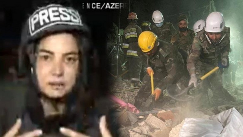 CNN Türk muhabi canlı yayında gözyaşlarını tutamadı