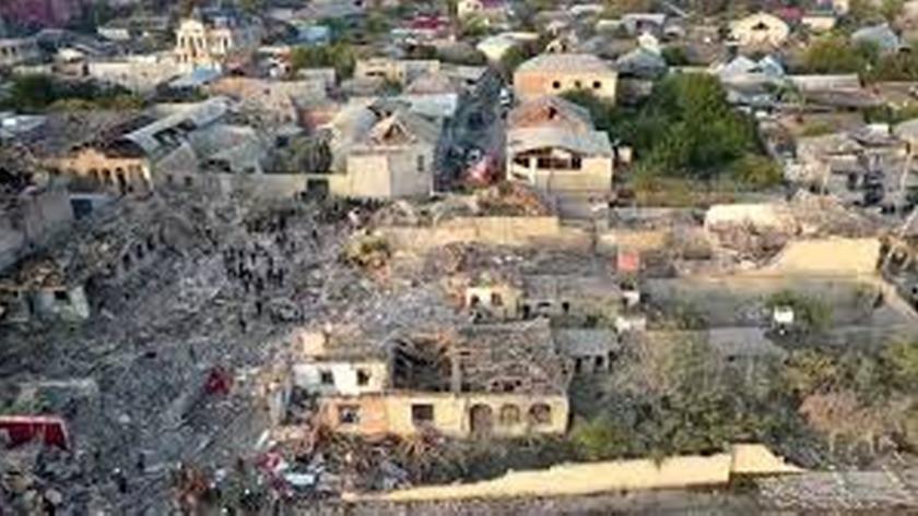 Gence kentinin sakinleri, yine uykudayken saldırıya maruz kaldı