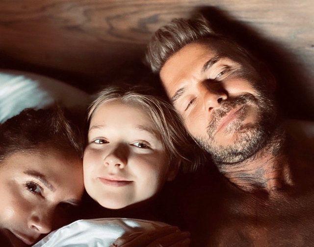 David Beckham'ın kızını dudağından öpmesi sosyal medyayı fena karıştırdı - Sayfa 4