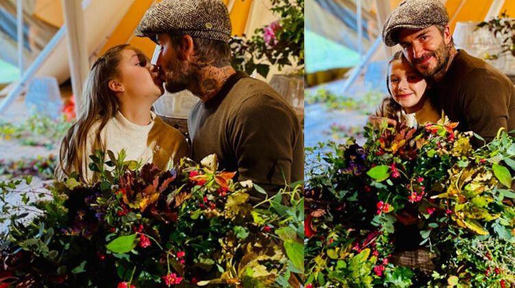 David Beckham'ın kızını dudağından öpmesi sosyal medyayı fena karıştırdı - Sayfa 1
