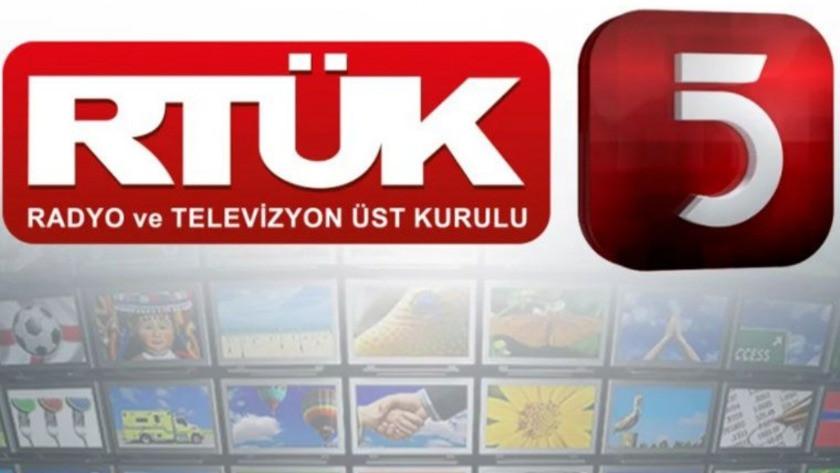 RTÜK'ten Elazığ depreminden sonra yayınladık sözler için TV5'e ceza !