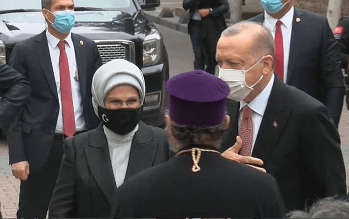 Cumhurbaşkanı Erdoğan Markar Esayan'ın cenaze töreninde - Sayfa 1