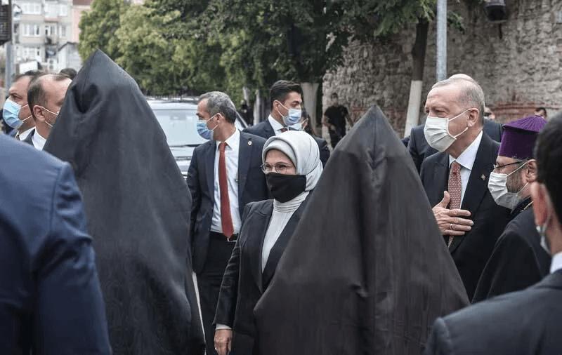 Cumhurbaşkanı Erdoğan Markar Esayan'ın cenaze töreninde - Sayfa 2