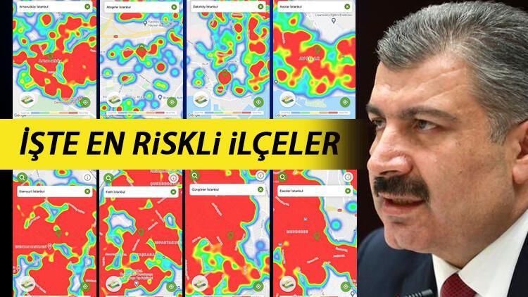 İstanbul'da Korona virüs alarmı! İşte ilçe ilçe İstanbul'un salgın haritası... - Sayfa 1