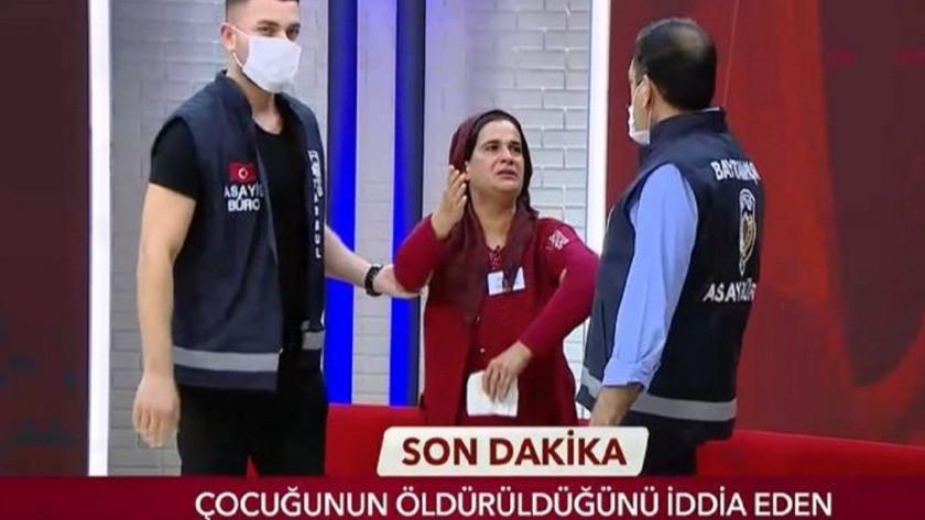 Canlı yayındaki korkunç itirafın ardından polis baskını !