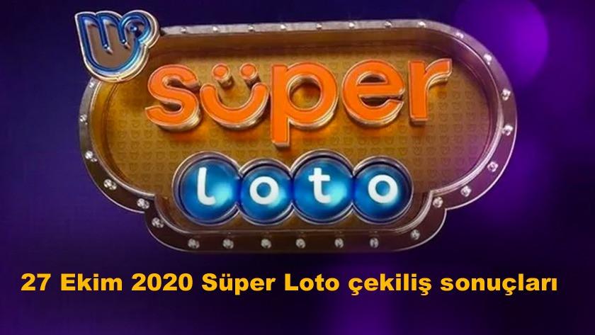 27 Ekim 2020 Süper Loto sonuçları belli oldu! İşte kazanan numaralar!