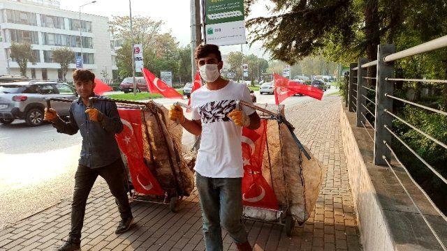 Cumhuriyet Bayramına damga vuran en anlamlı görüntü! - Sayfa 2