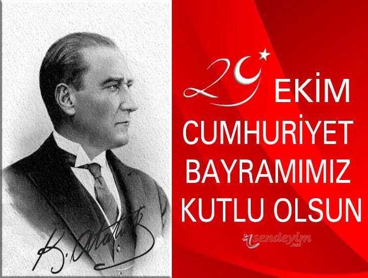 29 Ekim resimli mesajları - Cumhuriyet Bayramı mesajları ve sözleri - Sayfa 1