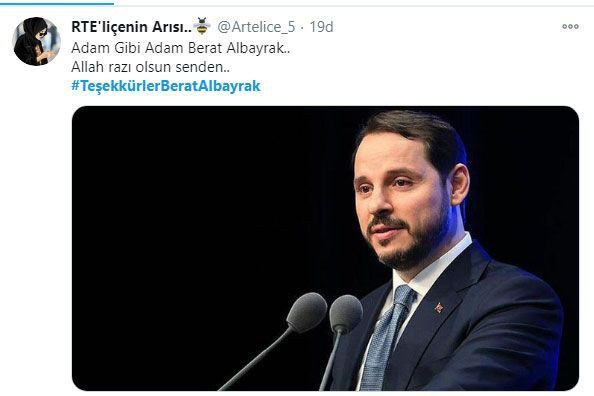 Berat Albayrak'ın istifası kabul edilince #TeşekkürlerBeratAlbayrak paylaşım rekoru kırdı! - Sayfa 4