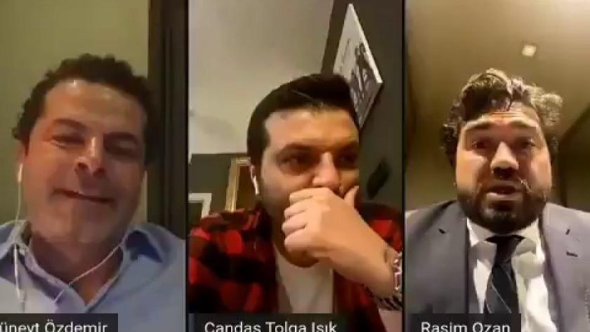 """Cüneyt Özdemir'den Berat Albayrak'a: """"Sen Şeyma Subaşı mısın? """" video"""