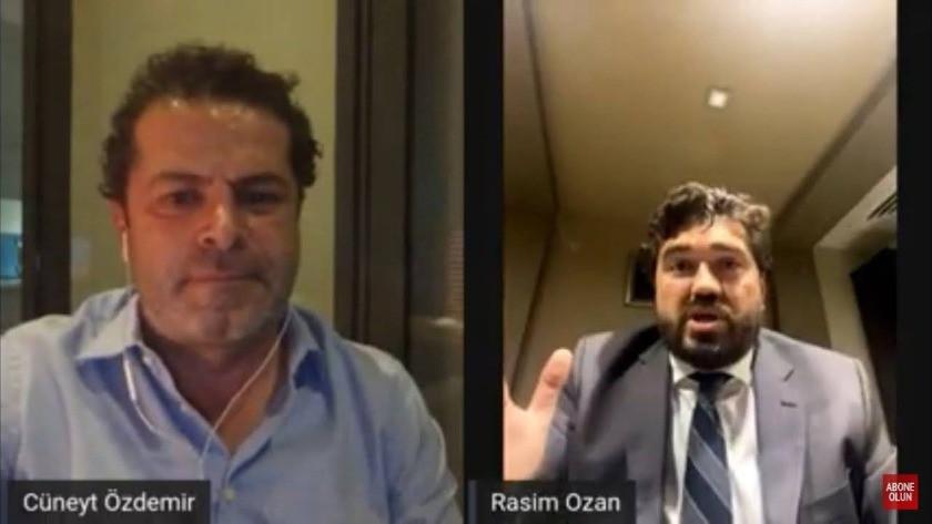 Cüneyt Özdemir ile Rasim Ozan Kütahyalı birbirine girdi! 'Senin kafan güzel!'