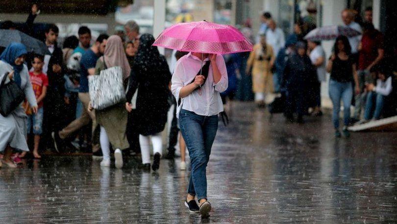 Bugün ve hafta sonuna dikkat! Meteoroloji'den sağanak yağış uyarısı - Sayfa 1