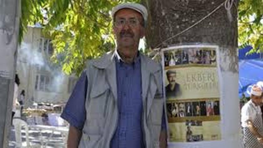 Aşık Ali Ekber Gülbaş koronavirüsten hayatını kaybetti