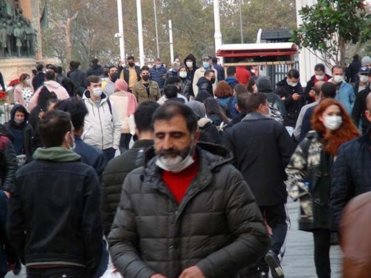 İstanbul İstiklal Caddesi'nden gelen görüntüler korkuttu! Pandemi yok sayıldı! - Sayfa 4