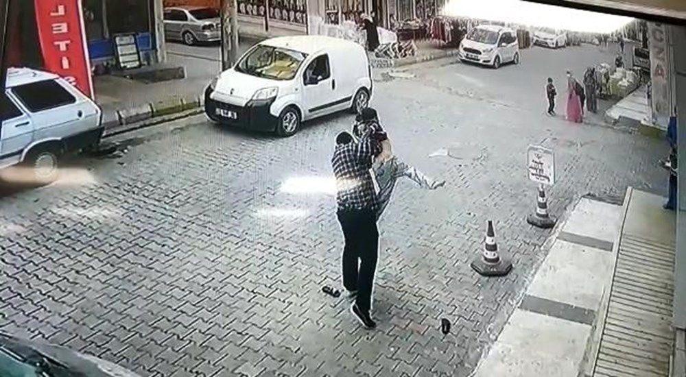 Şanlıurfa'da dehşete düşüren görüntü! Su içen çocuğu kaldırıp yere vurdu - Sayfa 1