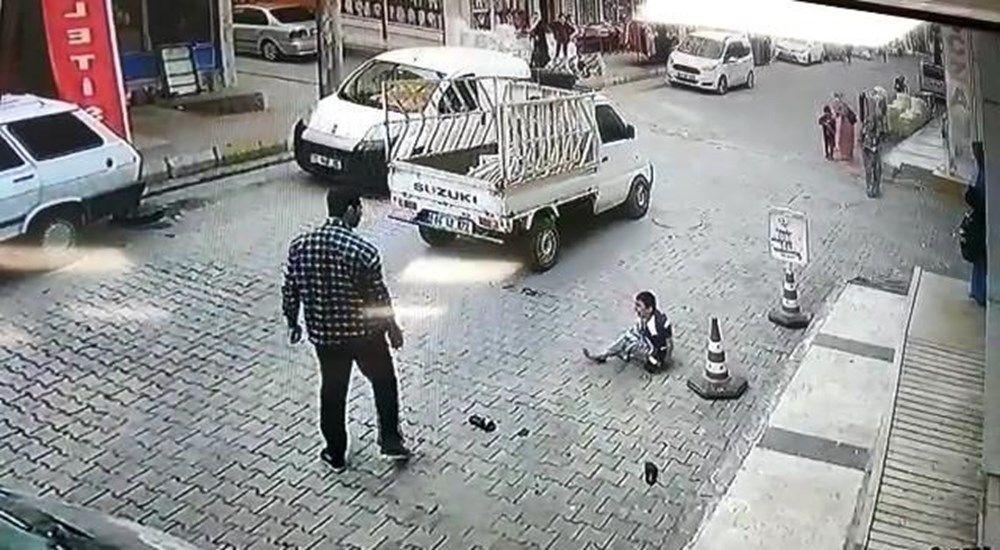 Şanlıurfa'da dehşete düşüren görüntü! Su içen çocuğu kaldırıp yere vurdu - Sayfa 2