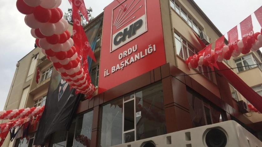 CHP Ordu teşkilatı korona virüs sebebiyle kapatıldı