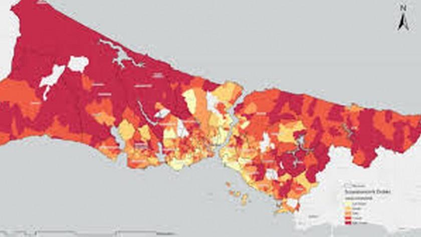 İstanbul koronavirus kırılganlık haritası ortaya çıktı!
