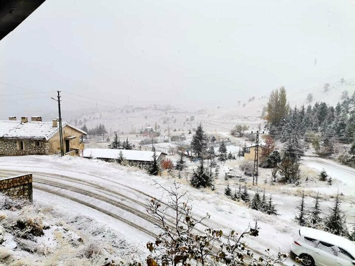 Antalya'ya yılın ilk karı yağdı - Sayfa 4