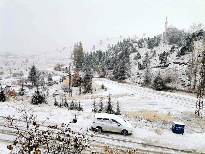 Antalya'ya yılın ilk karı yağdı - Sayfa 3