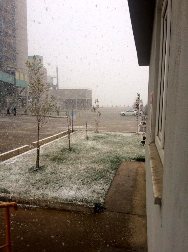 Başkent'te mevsimin ilk karı yağdı - Sayfa 4