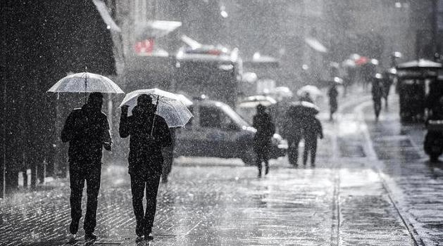 Sağanak yağış ve fırtına uyarısı! 23 Kasım Pazartesi hava durumu - Sayfa 1