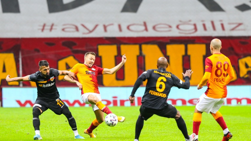 Galatasaray Kayserispor maçı golleri ve geniş özeti
