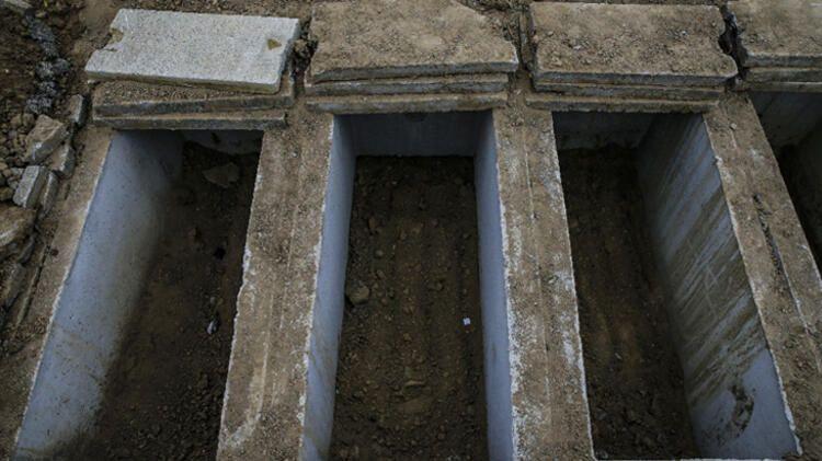 Ankara'da korona virüsten ölenler bu mezarlığa gömülüyor! İşte tüyler ürperten manzara - Sayfa 1