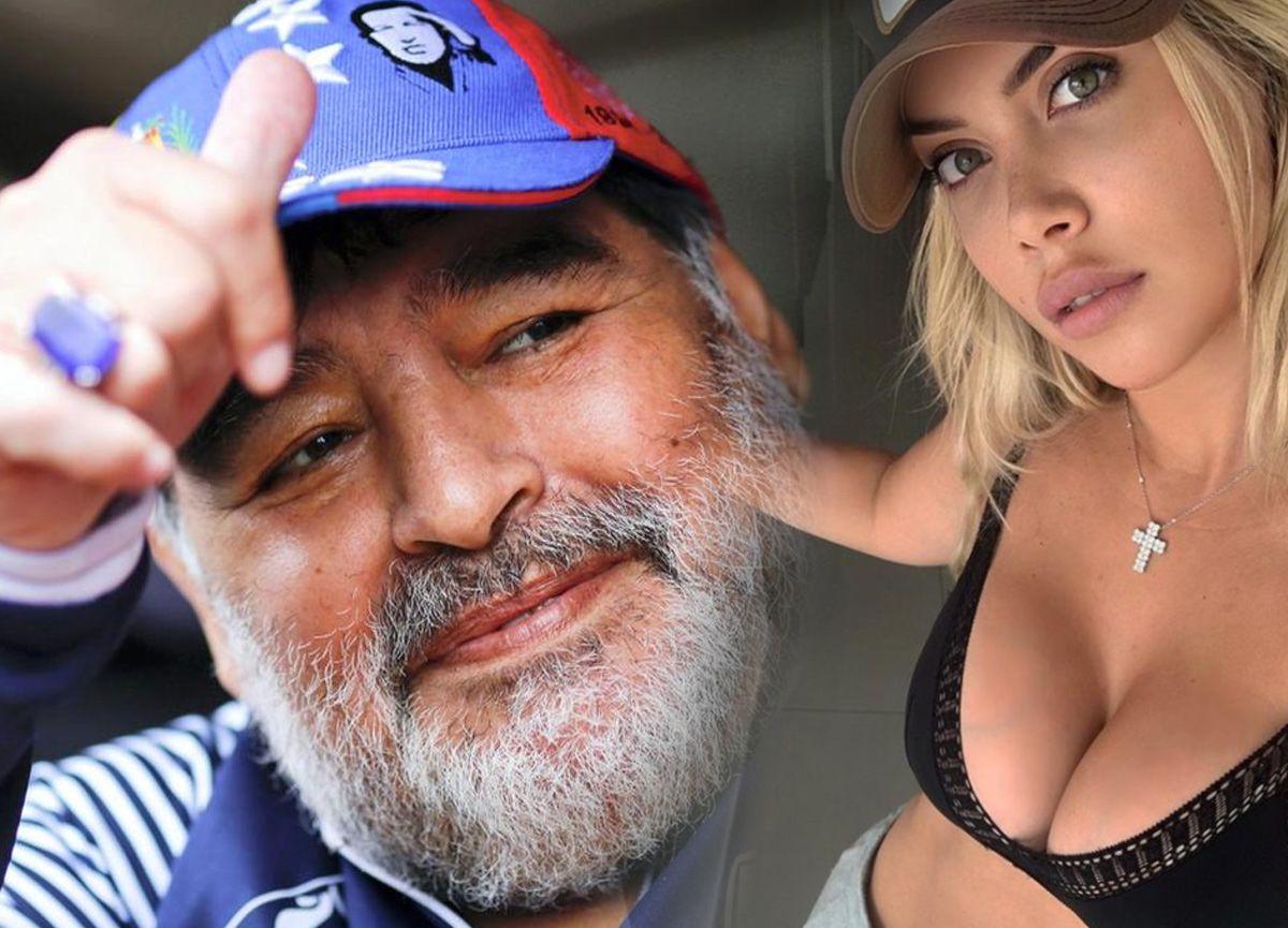 Maradona ve   ile Wanda Nara arasında olay cinsel ilişki iddiası - Sayfa 1