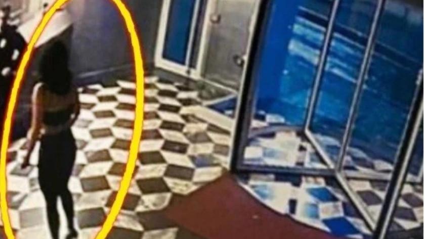 Aldatıldığını düşünen kadın çıplak halde otel bastı !