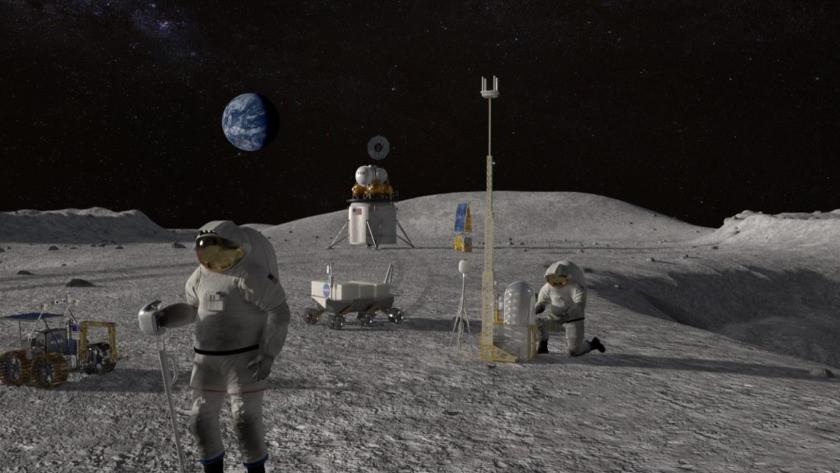 Avrupa Uzay Ajansı paylaştı! Ayda'ki evler işte böyle olacak