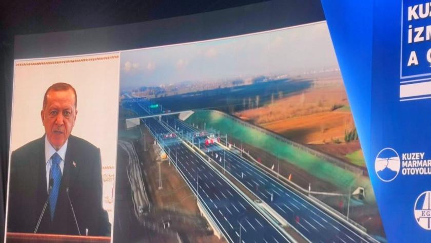Kuzey Marmara Otoyolu tamamen hizmete açıldı