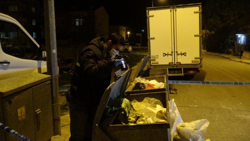 Çöp konteynerine atılan bebek yaşamını yitirdi