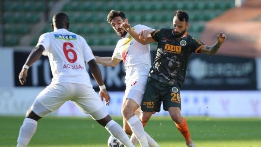 Alanyaspor - Malatyaspor maç sonucu: 1-1 özet ve golleri izle