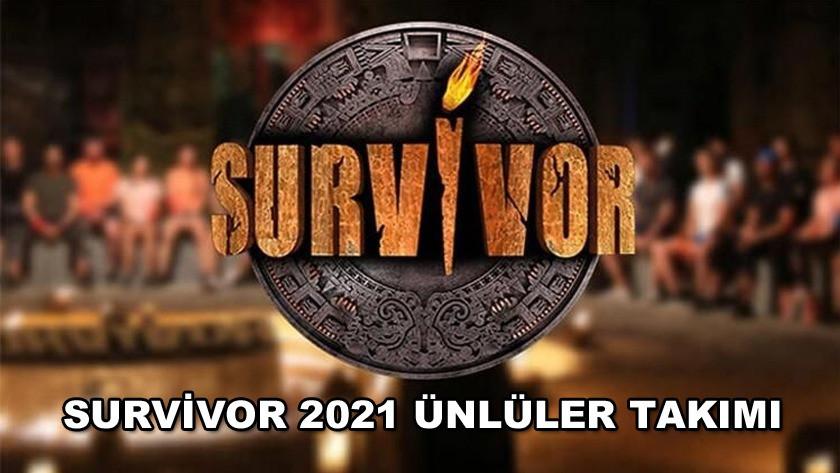 Survivor 2021 ünlüler takımı beli oldu! İşte Survivor 2021 ünlüleri