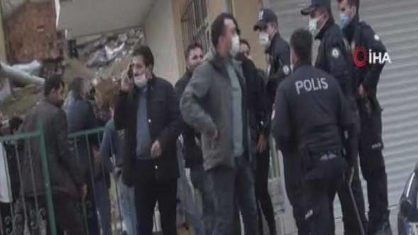 Arnavutköy'de sokağa çıkma yasağında kavga