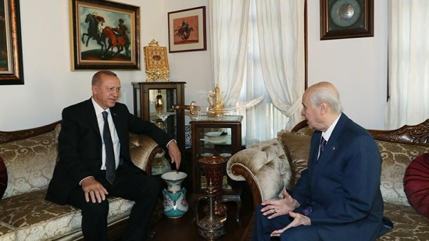 Cumhurbaşkanı Erdoğan, Bahçeli'yi evinde ziyaret edecek