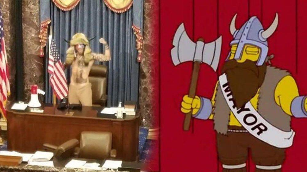 ABD Kongre baskını bilerek dünyayı şaşkına çeviren Simpsonslar'ın Trump'ın ölüm kehaneti olay oldu! - Sayfa 3