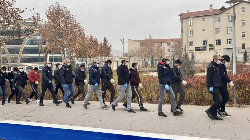 Kırşehir'deki DEAŞ operasyonunda 8 tutuklama