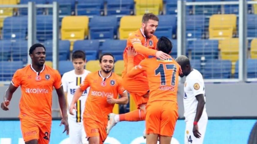 Ankaragücü - Başakşehir maç sonucu: 1-2 özet ve golleri izle